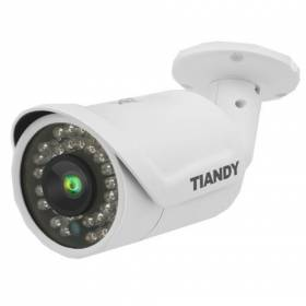 IP Camera Bullet 4Mpx H265 Tiandy - Fixed Lens 4 mm - Integrated Video Analysis - POE