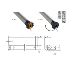 Motor Tubular VEO-C