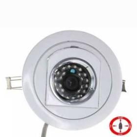 Cámara Empotrable con infrarrojos 4 en 1 . ( HD-TVI, AHD, HD-CVI, Analógico ) .1080p/960H analógico.