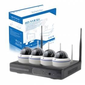Pack promocional de 4 cámaras Domo IP WIFI Autoinstalables.