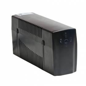 SAI 600 VA.2 enchufes Regulador voltaje, proteccion voz / datos , software, USB, rearmado autom.