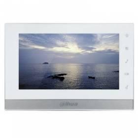 "Monitor Interior 7"" de Superficie para Videoportero IP PoE SD 6E 1S Alarma Blanco"