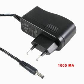 Fuente de alimentación para cámaras CCTV. Salida 12 V / 1000 mA