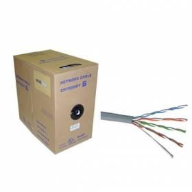 Bobina ( caja ) de 305m cable de UTP CAT5e rígido
