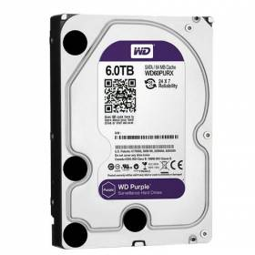 Disco Duro de 6 Tb ( 6144 Gb ) Western Digital Purple.