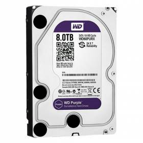 Disco Duro de 8 Tb ( 8192 Gb ) Western Digital Purple.