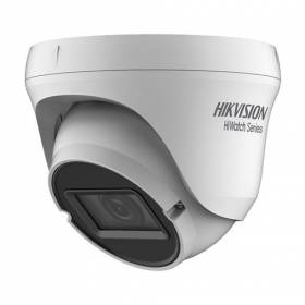 Cámara Domo Hikvision 4en1 1Mpx Exir Smart. Lente varifocal 2,8-12mm.IP66