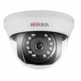 Cámara domo 4 en 1(HD-TVI, AHD, HD-CVI, CVBS ) Hiwatch by Hikvision. Lente fija 2,8mm.720p